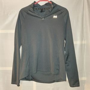 Under Armor Pull Over Half Zip Jacket Grey